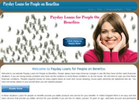 paydayloansforpeopleonbenefitss.co.uk