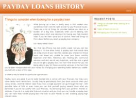 paydayloanshistory.com