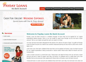 paydayloansnobankaccount.co.uk
