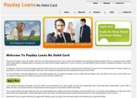 paydayloansnodebitcard.org.uk