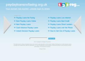 paydayloansnofaxing.org.uk