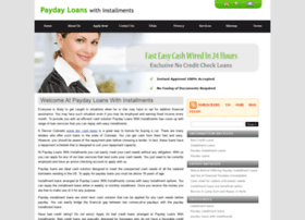 paydayloanswithinstallments.net