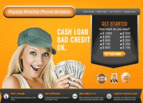 paydaymobilityphonenumber.com