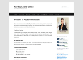 paydaysonline.com