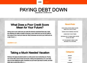 payingdebtdown.com