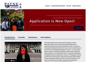 paynefellows.org
