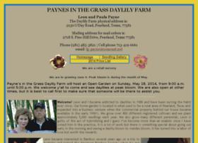paynesinthegrassdaylilyfarm.com