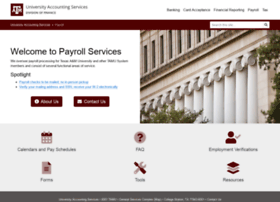 payroll.tamu.edu