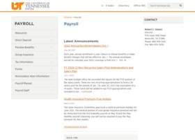payroll.tennessee.edu