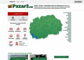pazar3.mk Pazar3.mk - Пазарот на Македонија со