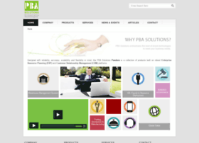 pbasolutions.com
