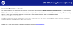 pbstechconference.org
