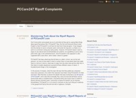 pccare247ripoffcomplaintsreviewscams.wordpress.com