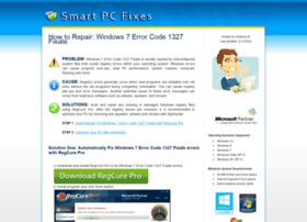 pcerrorfixsoftware.com