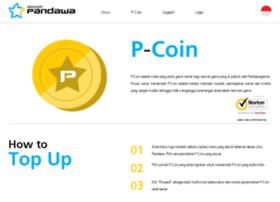 pcoin.pandawagames.com