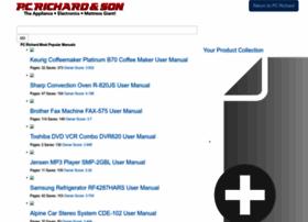 pcrichard.manualsonline.com