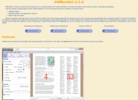 pdfbooklet.sourceforge.net