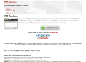 pdfcombine.net