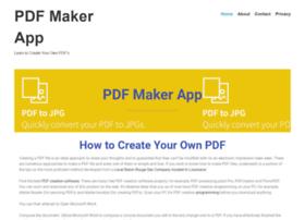 pdfmakerapp.com