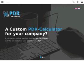 pdr-calculator.nl