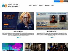 pdxcityclub.org