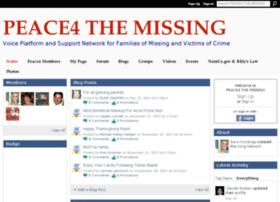 peace4missing.ning.com