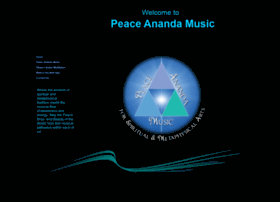 peaceanandamusic.com