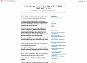 peaceandloveandnoticingthedetails.blogspot.com
