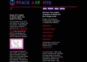peaceartsite.com