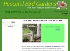 peacefulbirdgardens.com