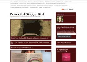 peacefulsinglegirl.wordpress.com