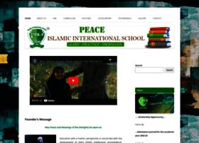peaceislamicinternationalschool.com