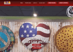 peaceloveandpizza.com