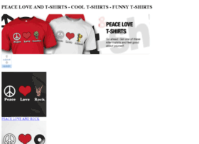 peaceloveandt-shirts.com