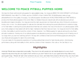 peacepibullspuppies.net