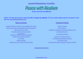 peacewithrealism.org