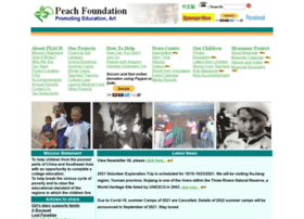 peachfoundationusa.org