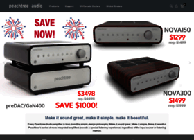 peachtreeaudio.com