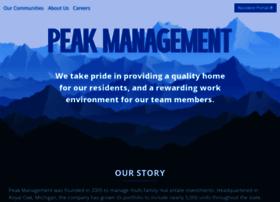 peak-management.com