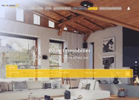 peakimmobilier.com
