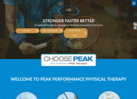 peakphysicaltherapy.com