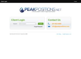 peakpositions.net