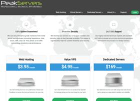 peakservers.com