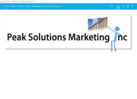 peaksolutionsmarketing.com