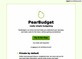 pearbudget.com
