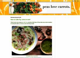 peaslovecarrots.blogspot.com