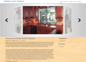 pebblescustomcabinets.com