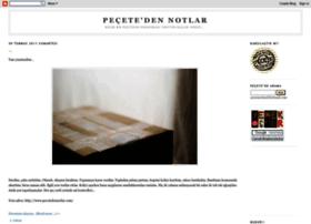 pecetedennotlar.blogspot.com