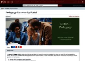 pedagogy.merlot.org