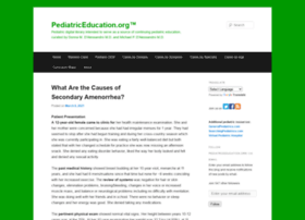 pediatriceducation.org